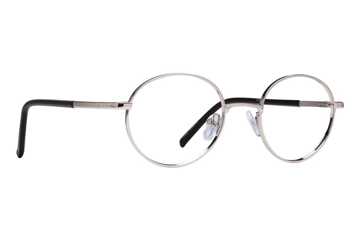 Lunettos Winston Gold Eyeglasses
