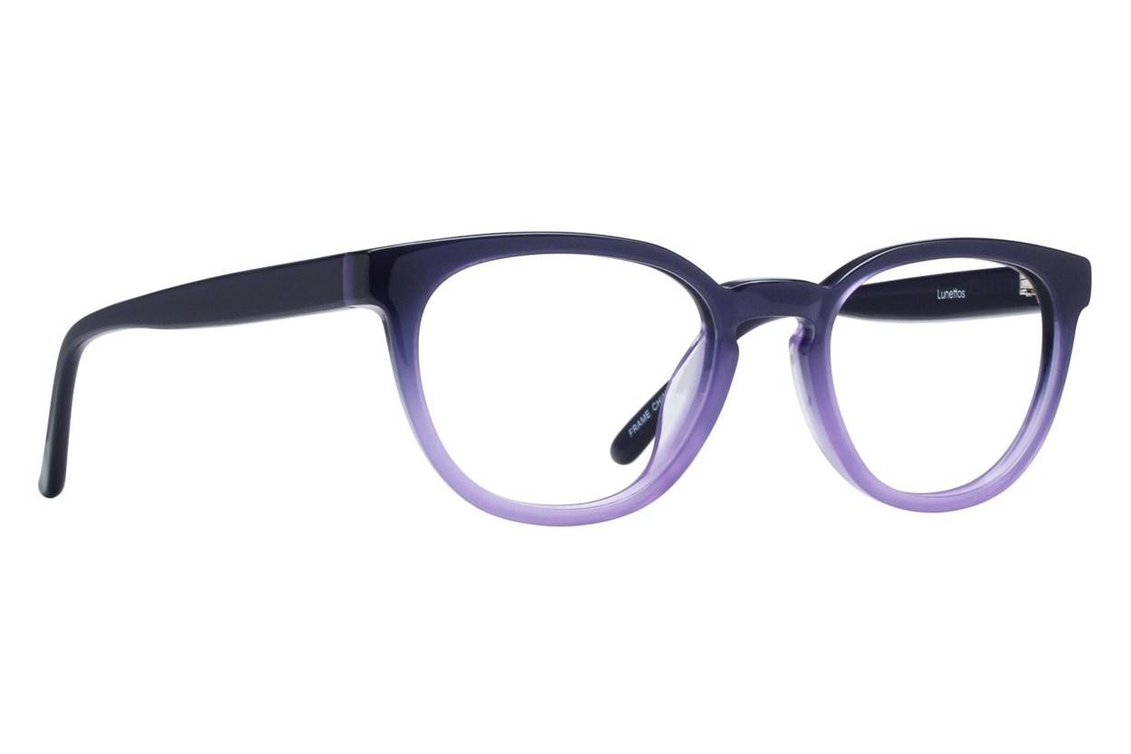 Lunettos Michael Blue Eyeglasses