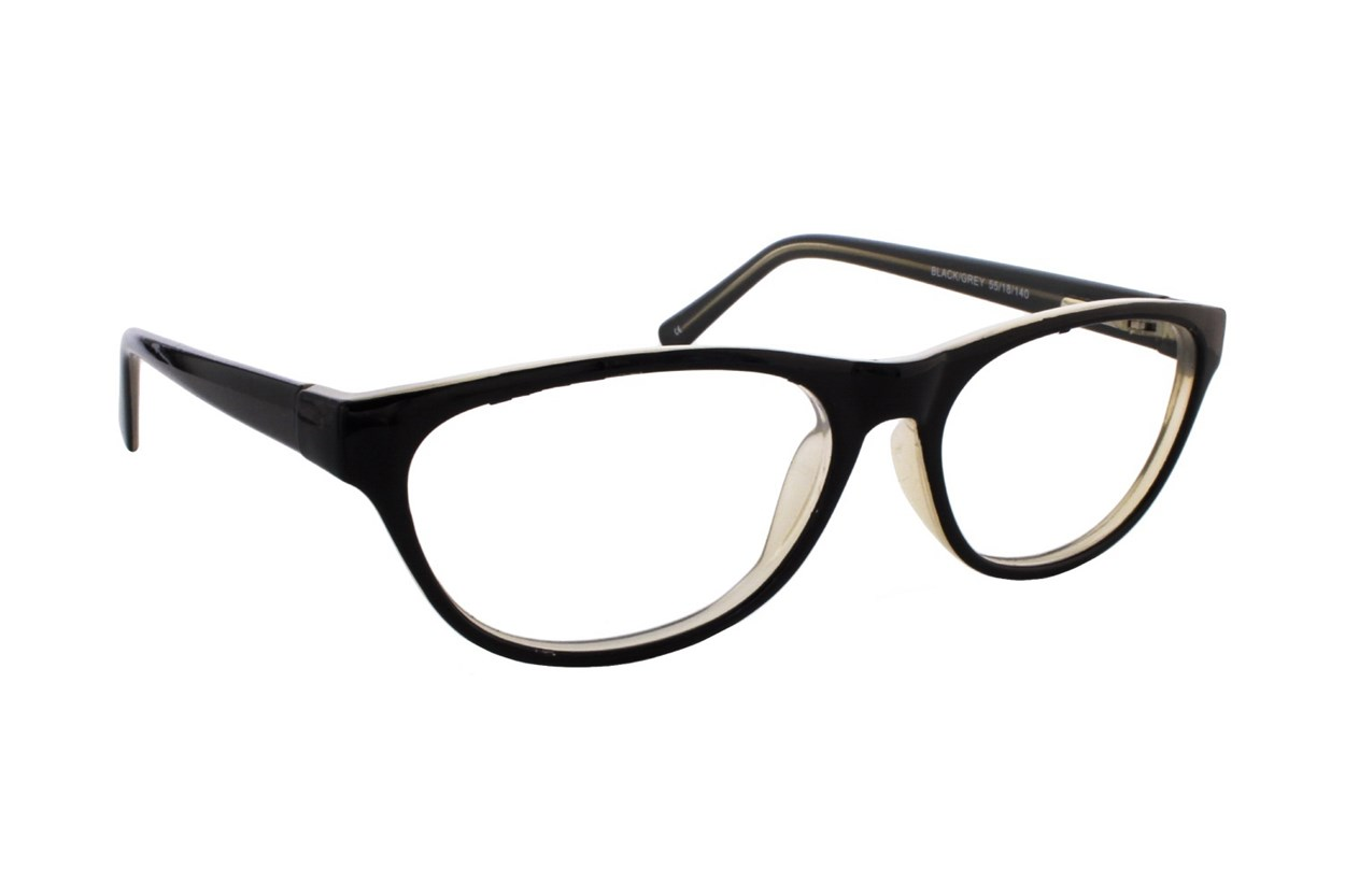Lunettos Stephana Black Eyeglasses