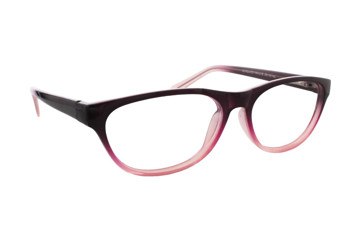 Lunettos Stephana Red Eyeglasses
