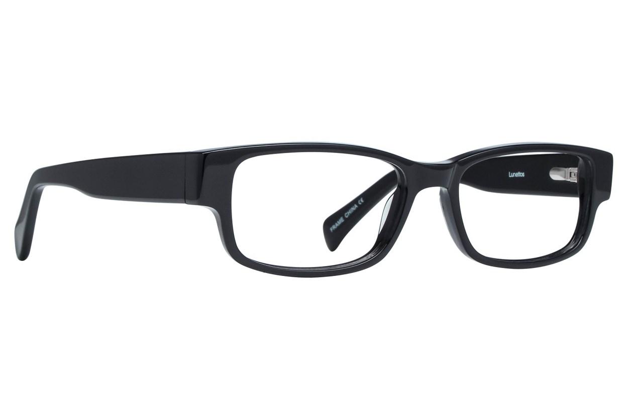Lunettos Taylor Petite 49 Black Eyeglasses