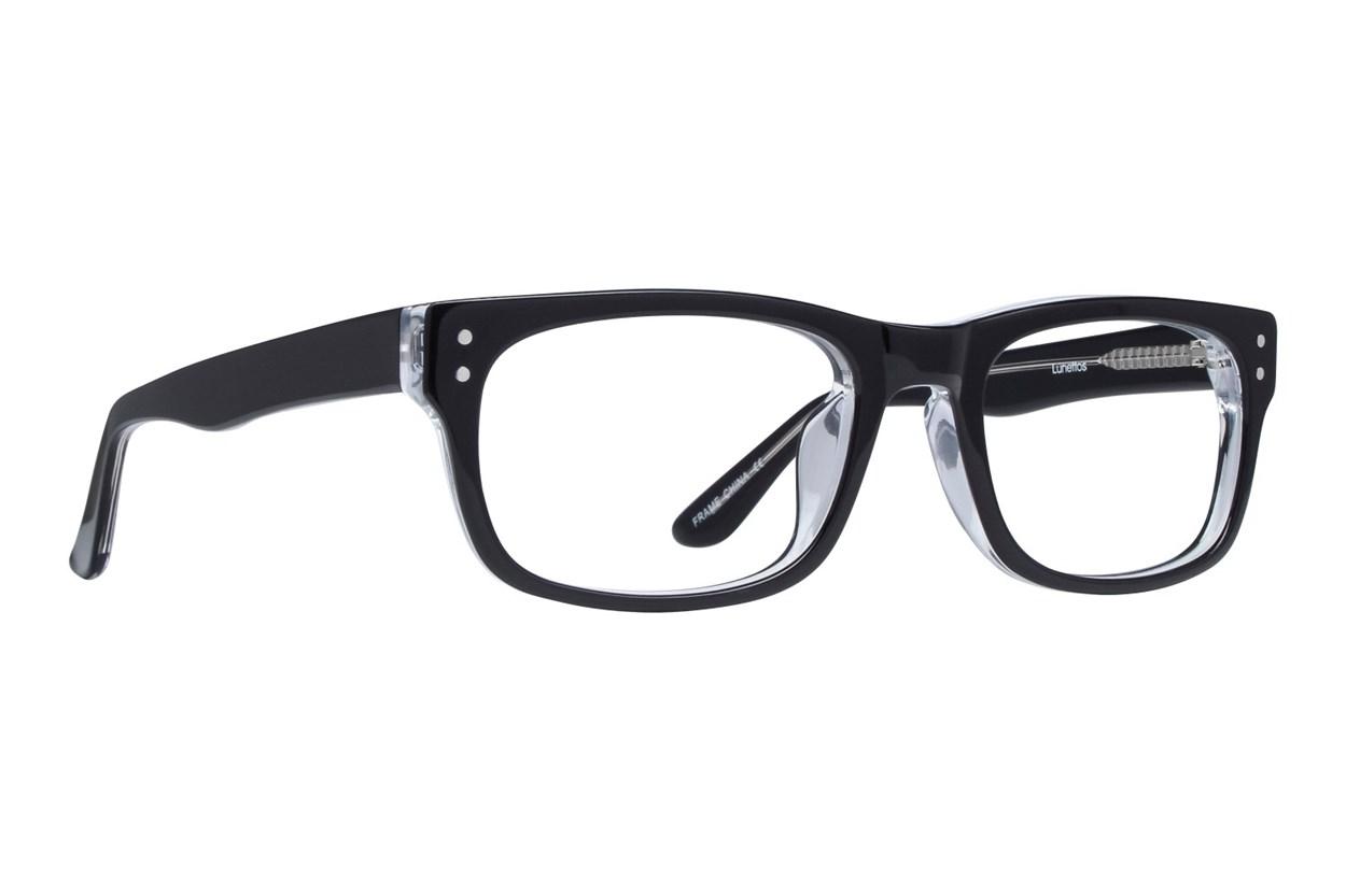 Lunettos Brian Black Eyeglasses