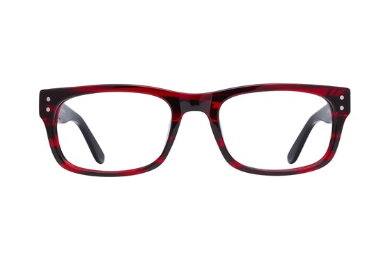 Lunettos Brian Red Eyeglasses
