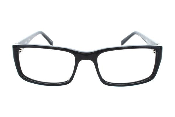 Hackett London Large Fit HEK1103 Eyeglasses - Black