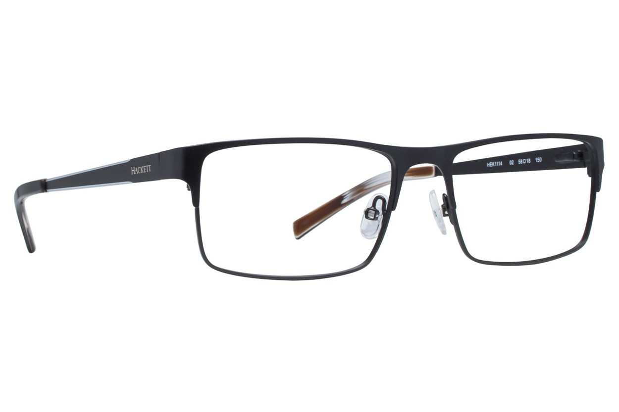 Hackett London Large Fit HEK1114 Black Eyeglasses