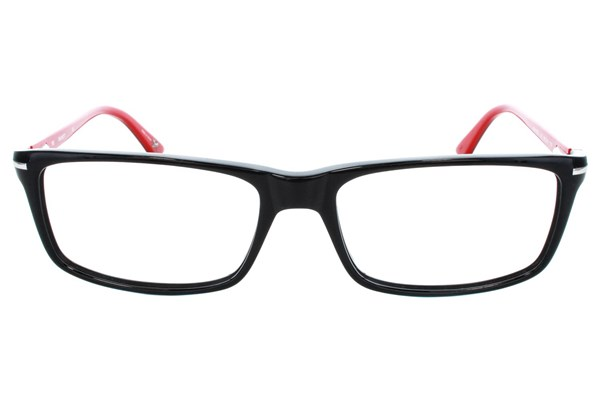Hackett London Large Fit HEK1130 Eyeglasses - Black