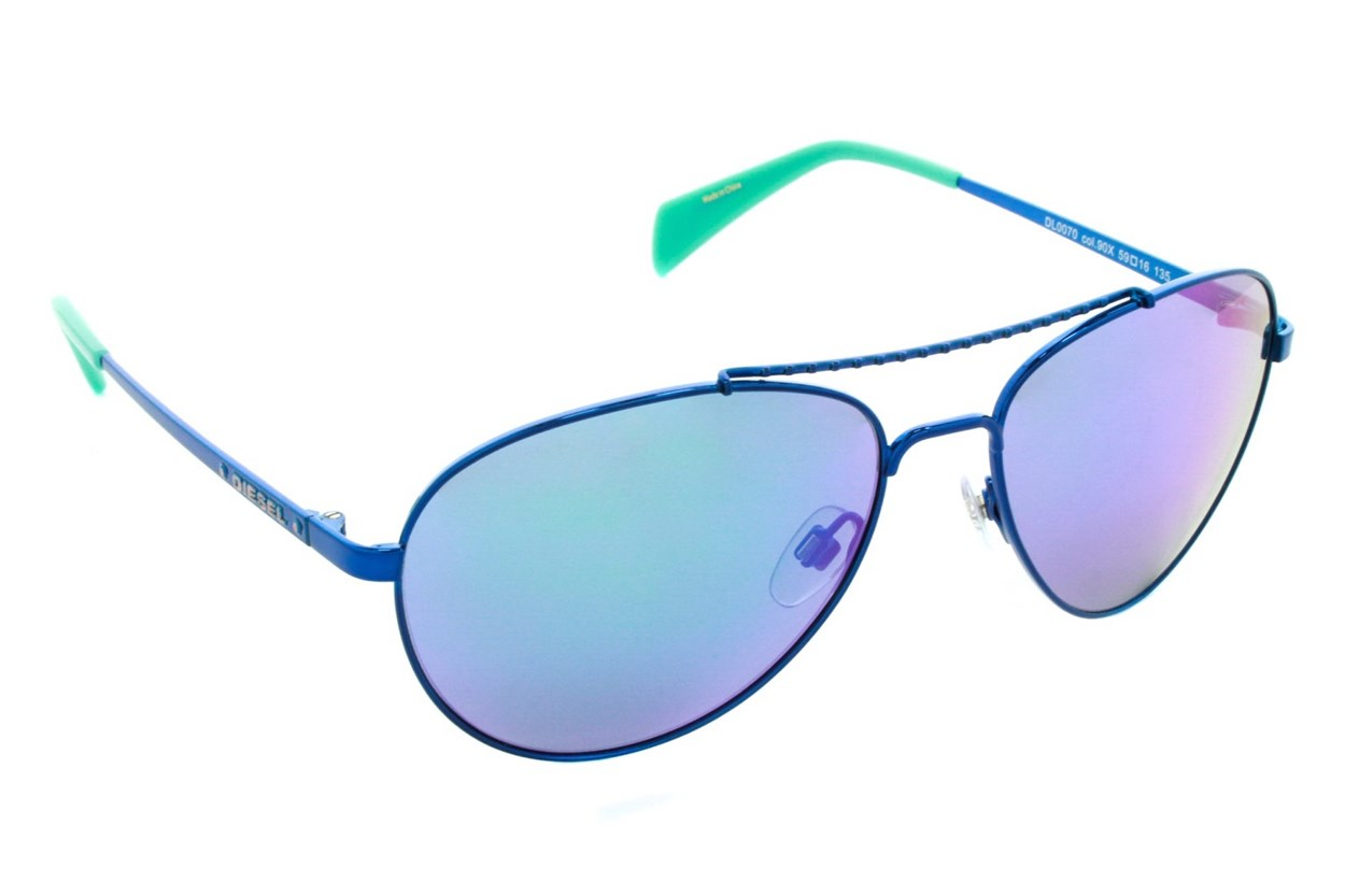 Diesel DL 0070 Blue Sunglasses
