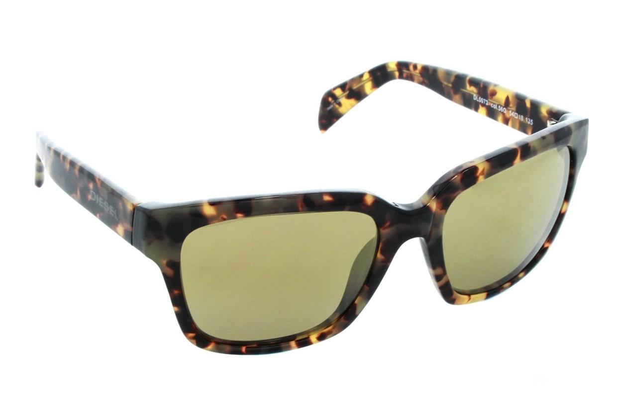 Diesel DL 0073 Tortoise Sunglasses