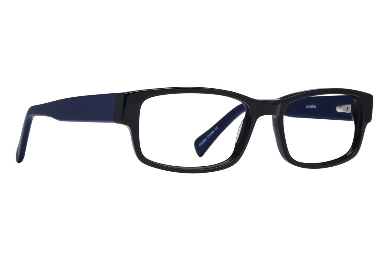 Lunettos Clark Purple Eyeglasses