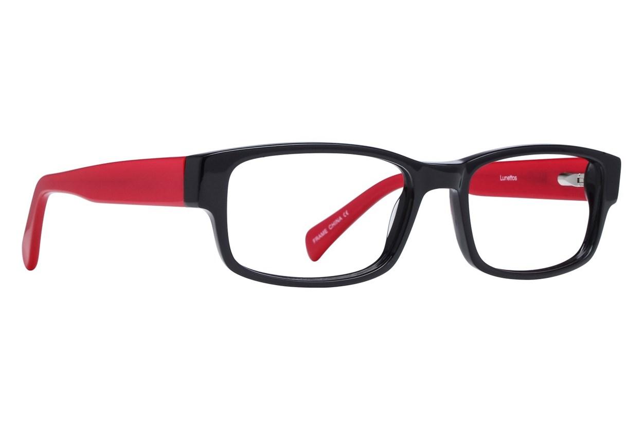 Lunettos Clarkson Red Eyeglasses