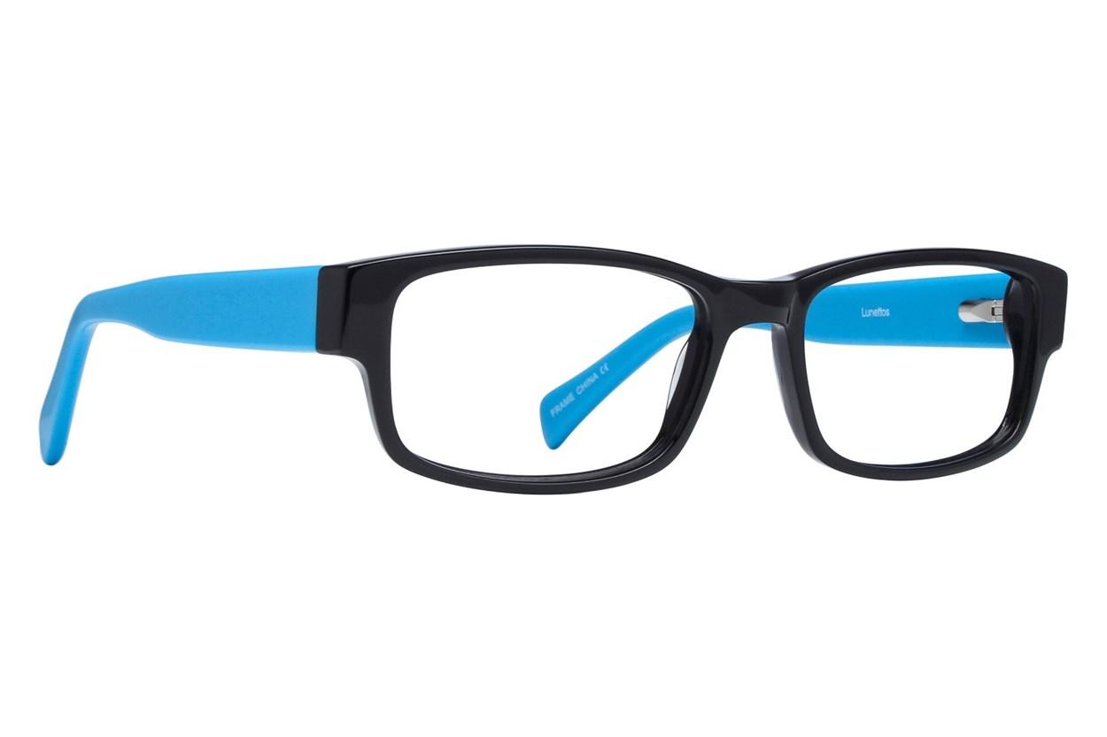 Lunettos Clarkson Blue Eyeglasses