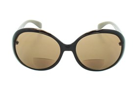 CalOptix Bon Voyage Sun Readers Brown