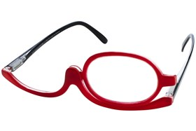 I Heart Eyewear Make-up Reader Red