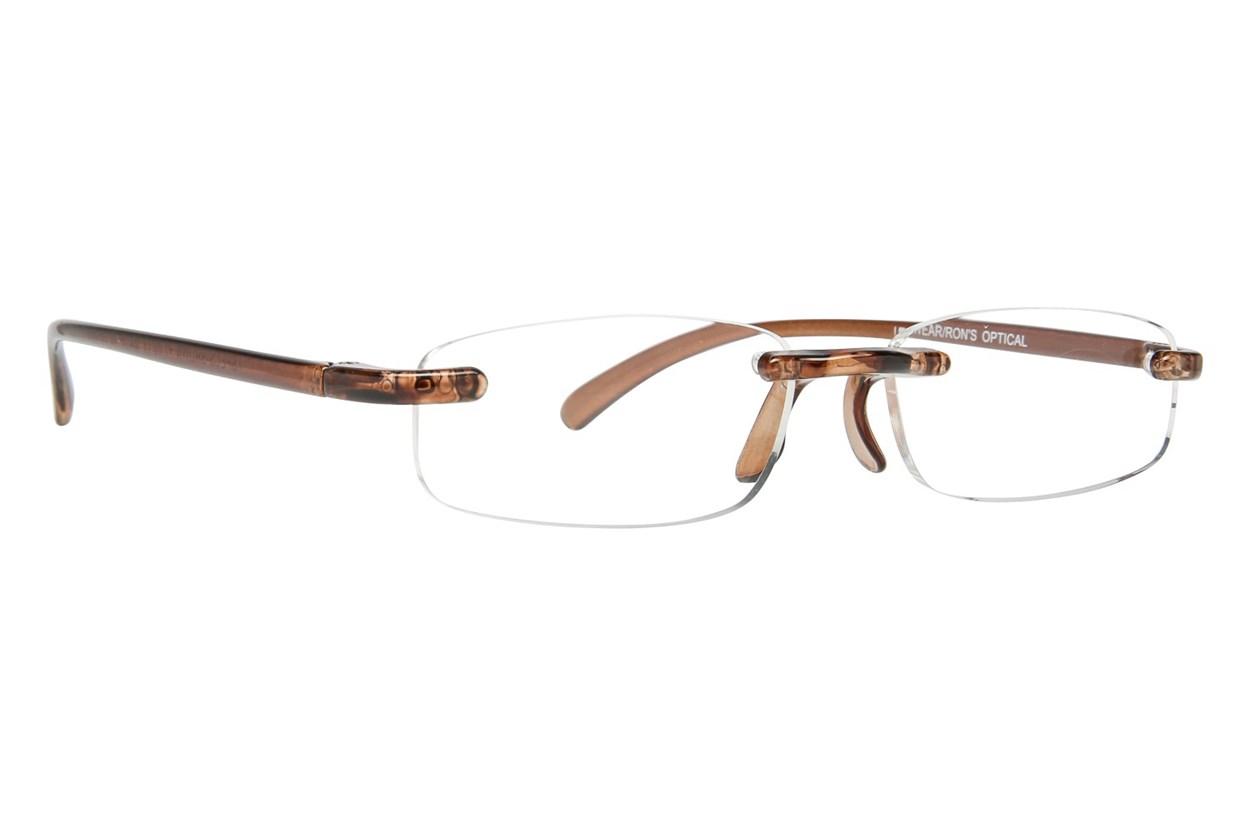 I Heart Eyewear Twisted Specs Brown