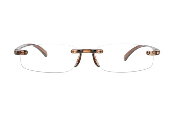 I Heart Eyewear Twisted Specs Brown ReadingGlasses
