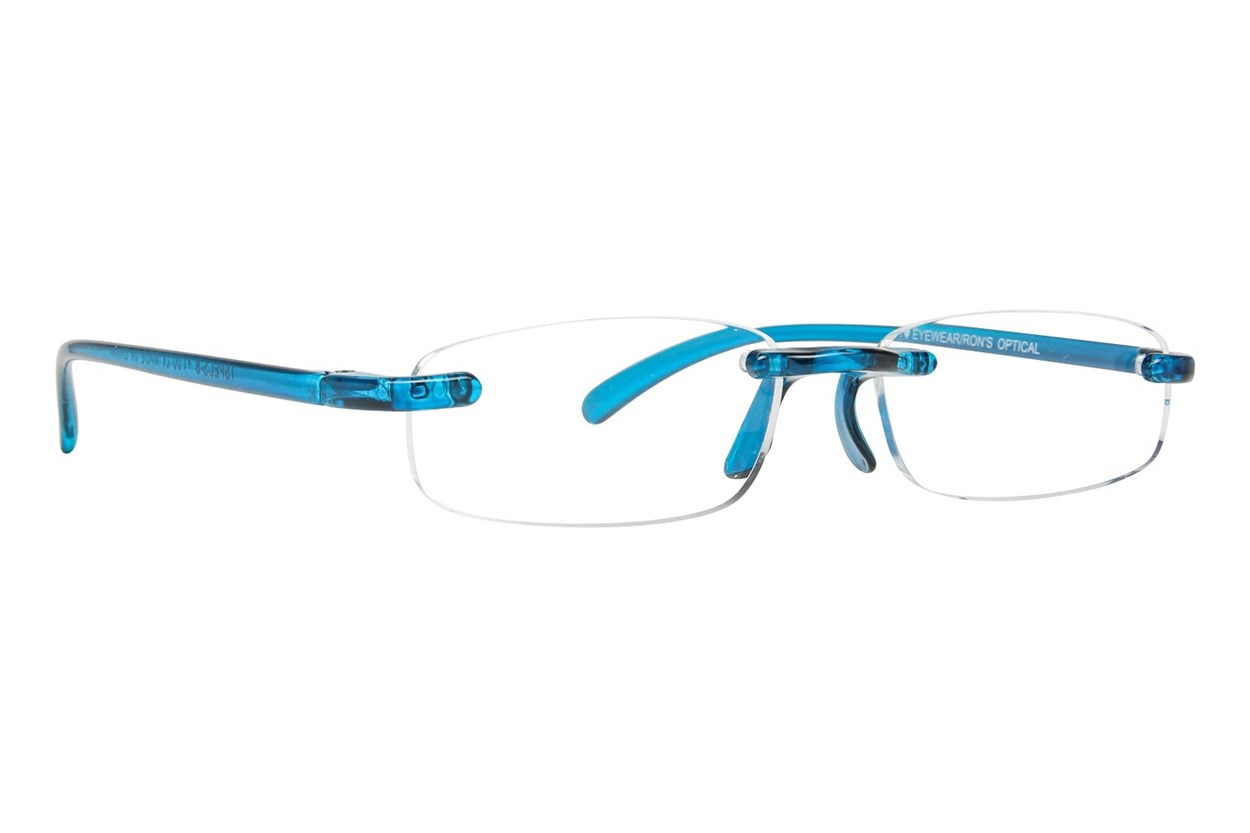 I Heart Eyewear Twisted Specs Blue