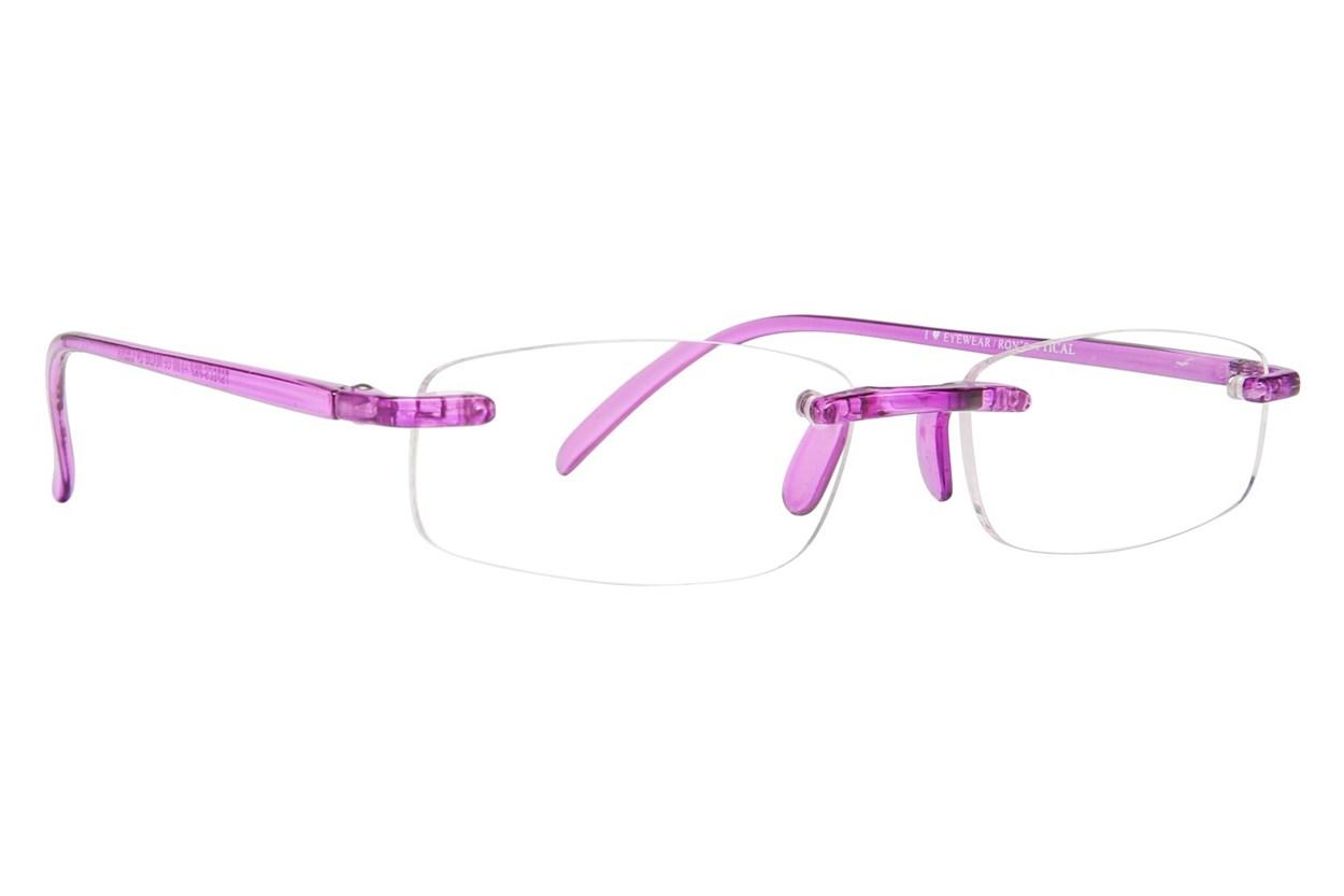 I Heart Eyewear Twisted Specs Purple