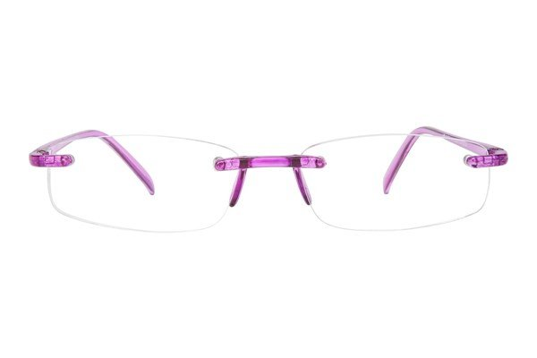 I Heart Eyewear Twisted Specs ReadingGlasses - Purple