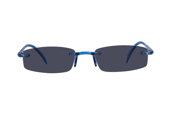 I Heart Eyewear Twisted Sun Specs Blue ReadingGlasses