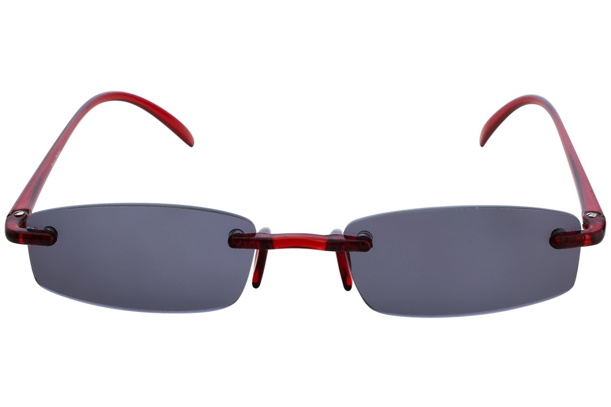 I Heart Eyewear Twisted Sun Specs ReadingGlasses - Red
