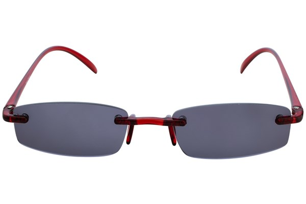 I Heart Eyewear Twisted Sun Specs Red ReadingGlasses