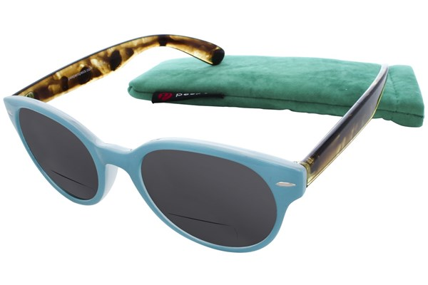 Peepers Fancy Voyage Bifocal Reading Sunglasses ReadingGlasses - Blue