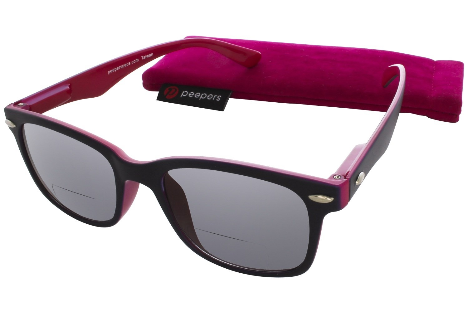 peepers victory bifocal sun reading glasses