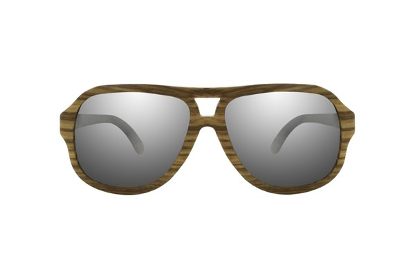 EARTH Wood Cannon Sunglasses - Brown
