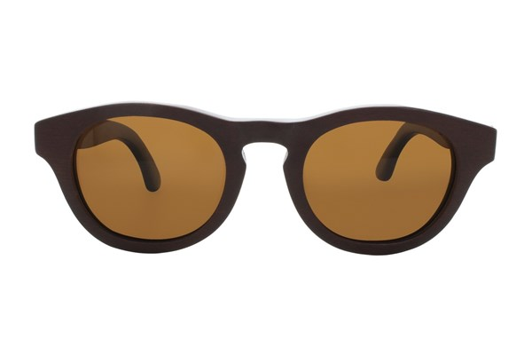 EARTH Wood Cocoa Sunglasses - Red