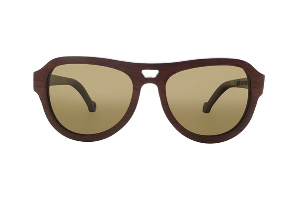 EARTH Wood Coronado Sunglasses - Red
