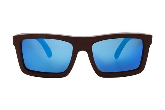 EARTH Wood Hamoa Red Sunglasses