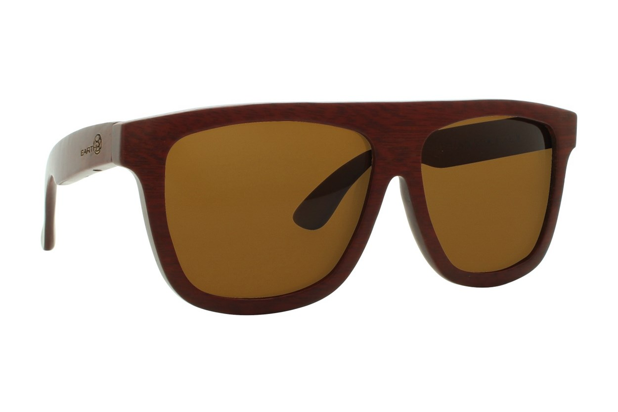 EARTH Wood Imperial Red Sunglasses