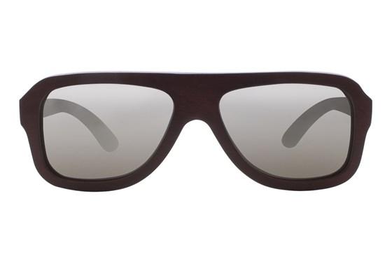 EARTH Wood Siesta Red Sunglasses