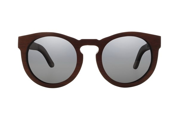 EARTH Wood Wildcat Red Sunglasses