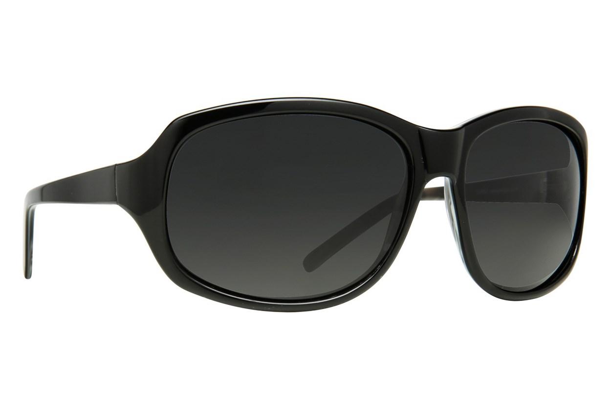 Lunettos Betty Black Sunglasses