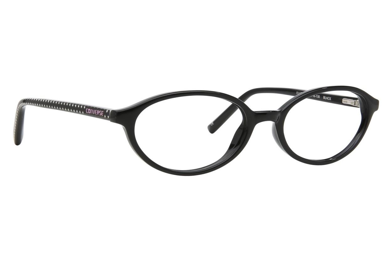 Converse Flutter Black Eyeglasses