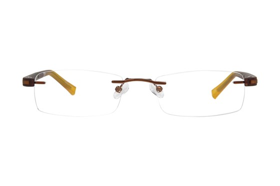 Converse Q022 Brown Eyeglasses