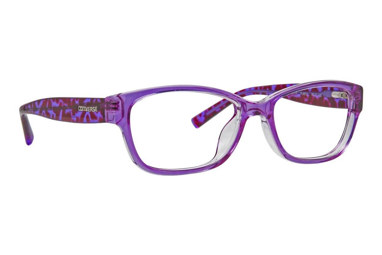 Converse Q035 Purple Eyeglasses