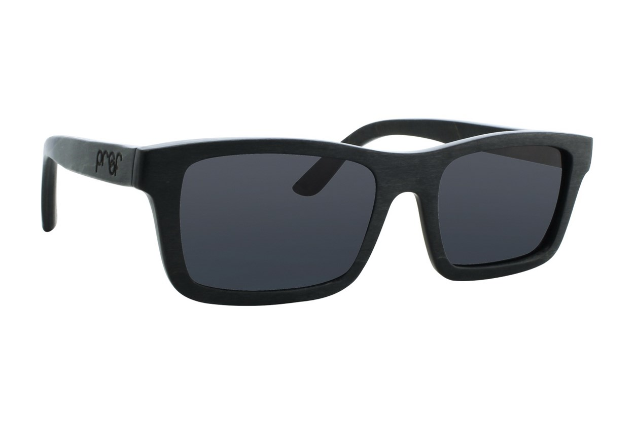 Proof Boise Wood Black Sunglasses