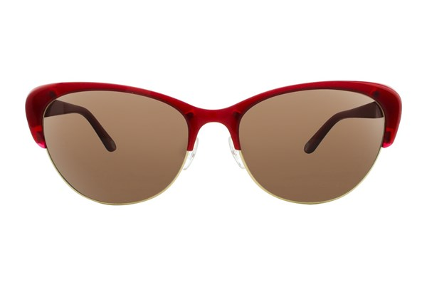 Lulu Guinness L117 Red Sunglasses