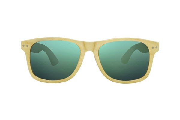 Proof Ontario Wood Sunglasses - Tan