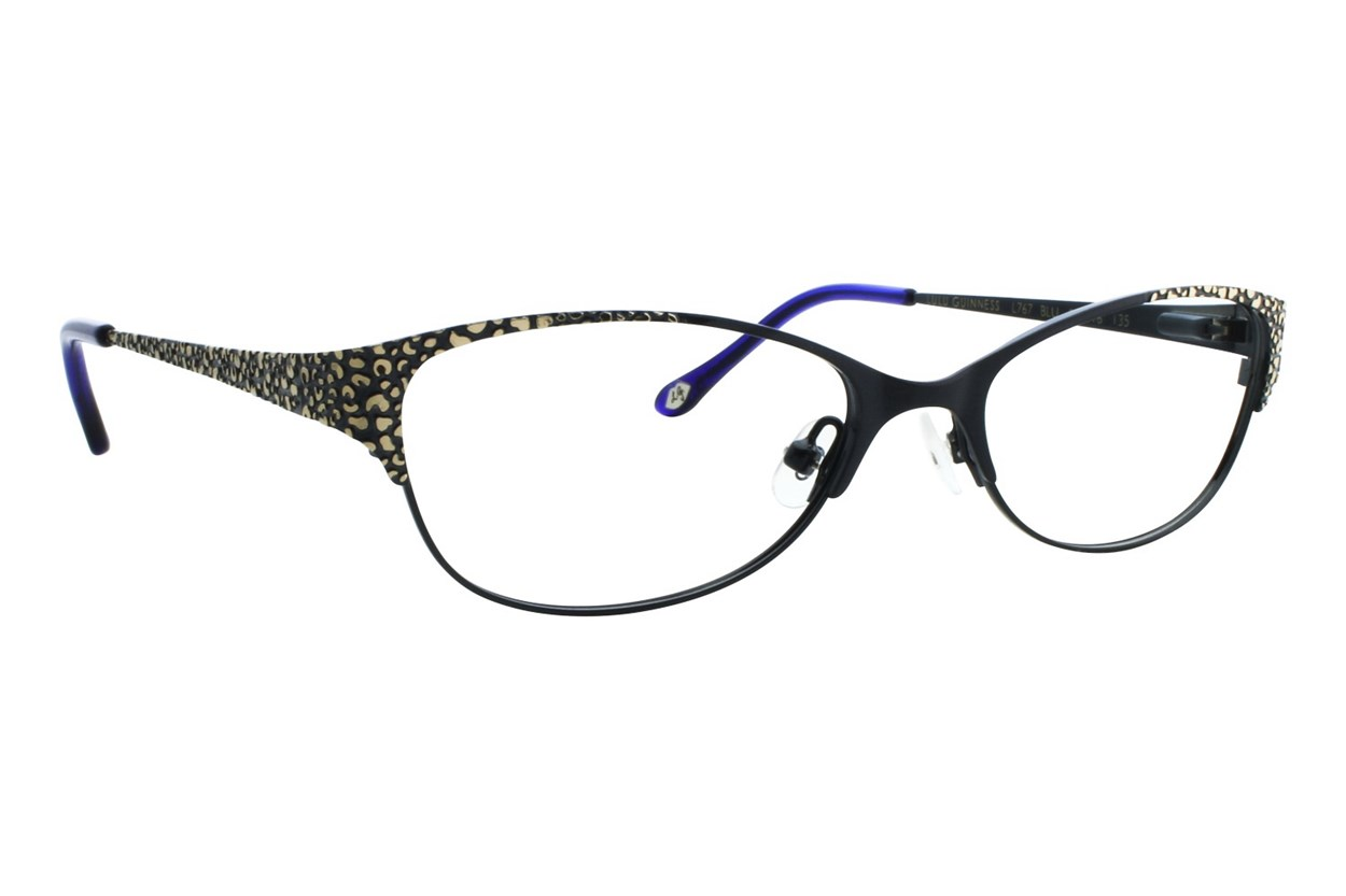 Lulu Guinness L767 Blue Eyeglasses