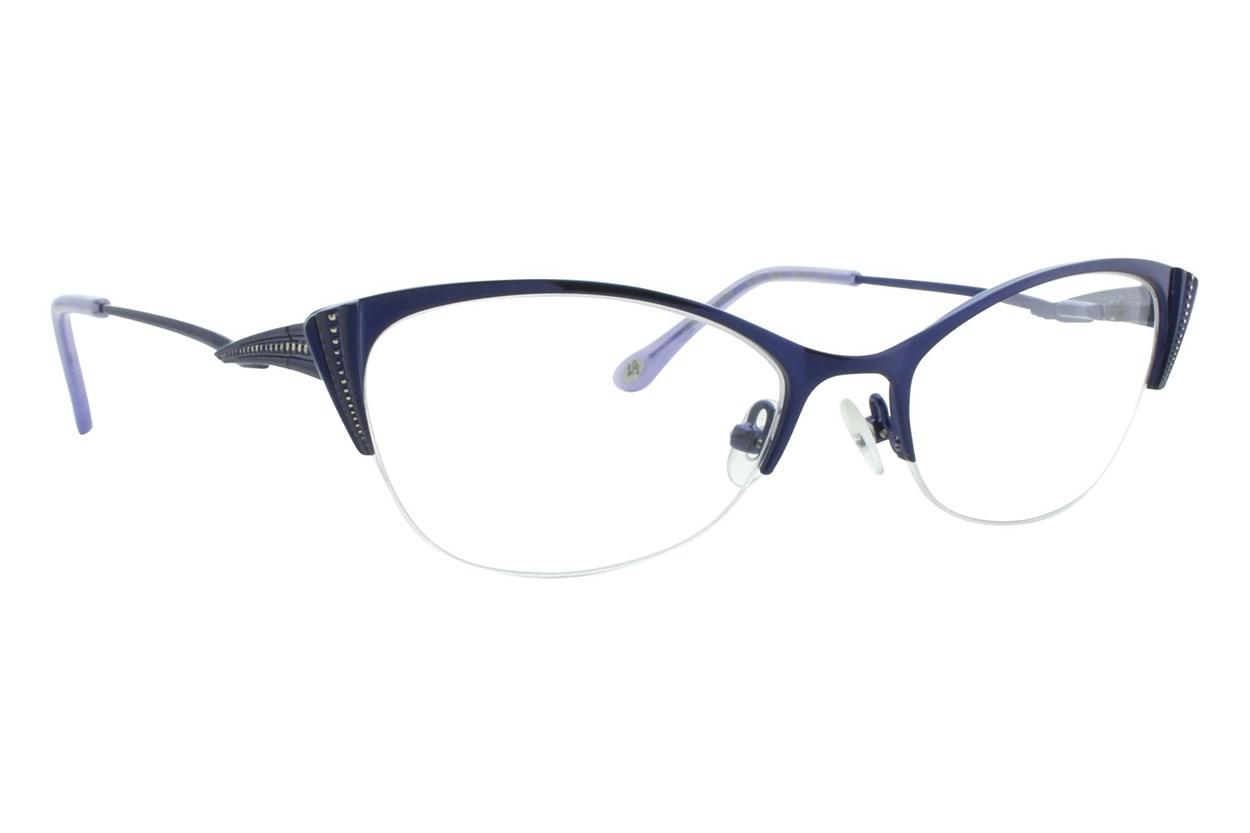 Lulu Guinness L764 Blue Eyeglasses