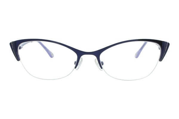 Lulu Guinness L764 Blue Eyeglasses