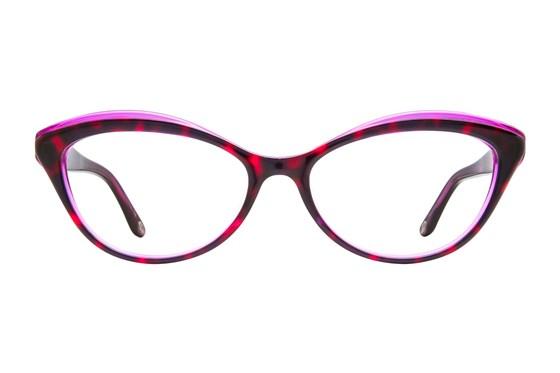 Lulu Guinness L881 Purple Eyeglasses
