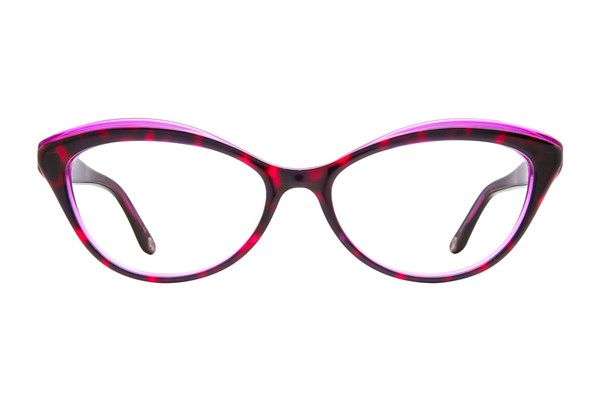 Lulu Guinness L881 Eyeglasses - Purple