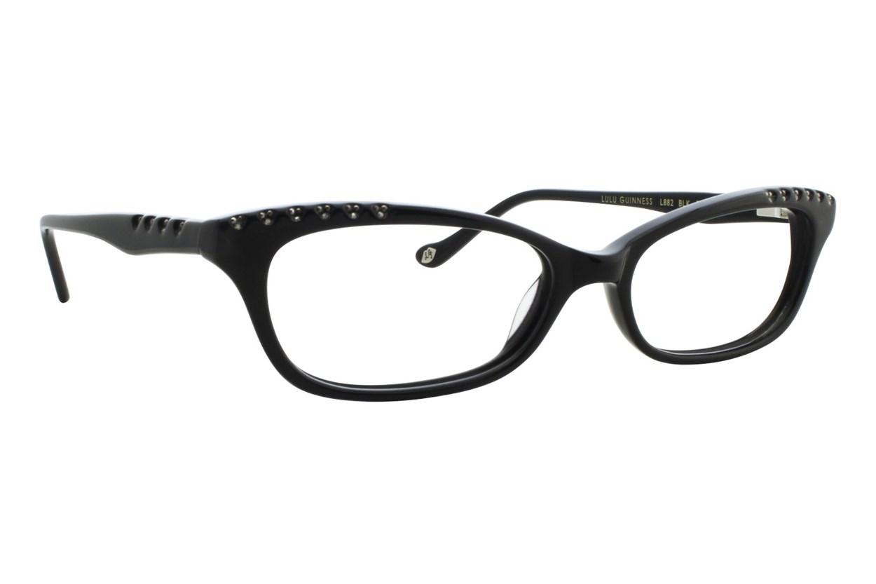 Lulu Guinness L882 Black Eyeglasses