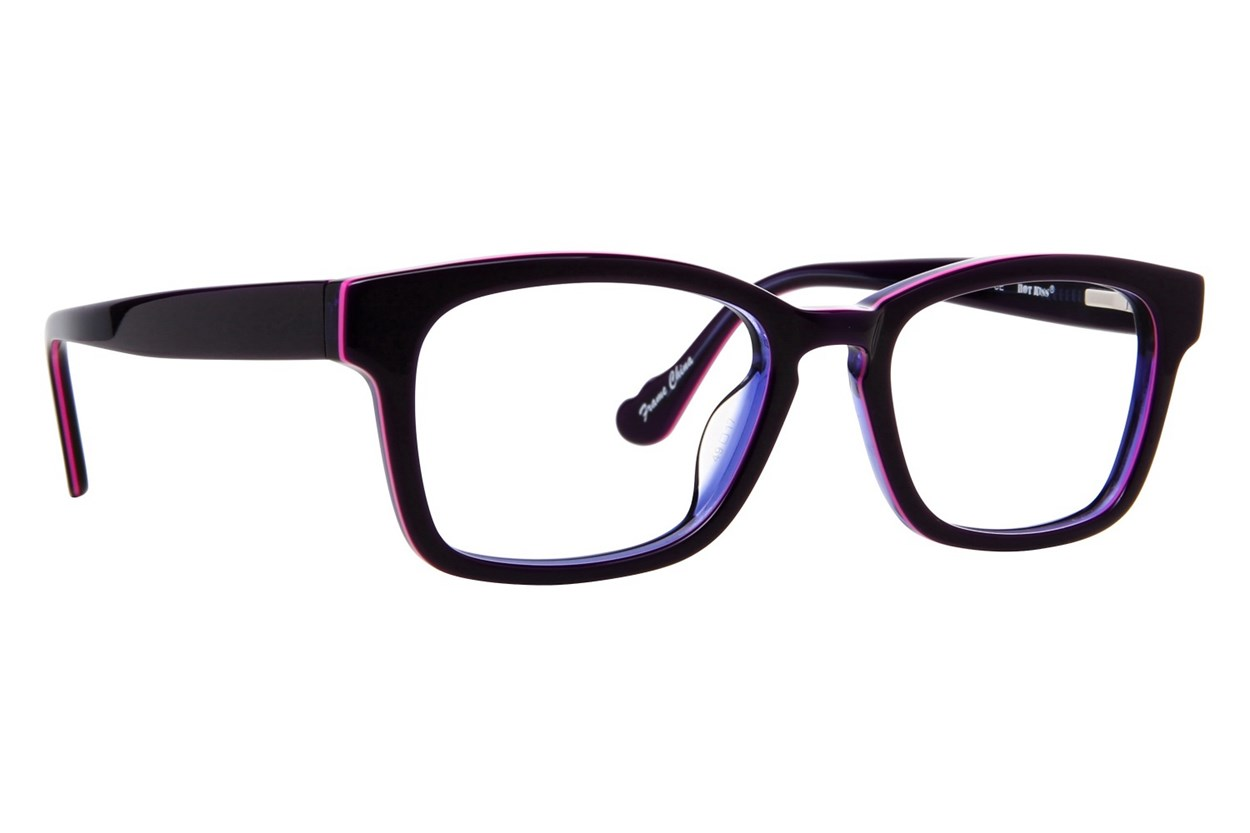 Hot Kiss HK44 Purple Eyeglasses