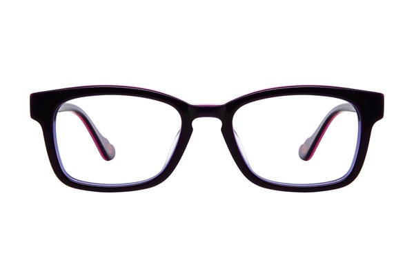 Hot Kiss HK44 Eyeglasses - Purple