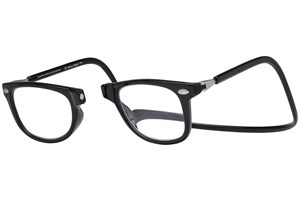 Click to swap image to alternate 1 - Clic-Optical Ashbury Black ReadingGlasses